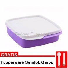 Ulasan Mengenai Tupperware Loly Tup Ungu Free Cutlery