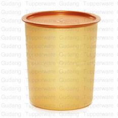 Tupperware Medium Mosaic Canister - Gold edition