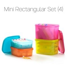 Harga Tupperware Mini Rectaguler Set Original