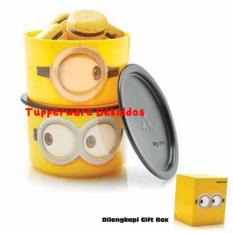 Tupperware Minion Goggle Canister 2 pcs/set