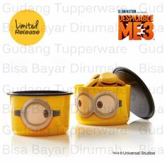 Jual Tupperware Minion Google Canister 1Pcs Toples Branded Original