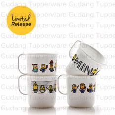 Tupperware Minion Papoy Mug 4pcs - Gelas Cantik
