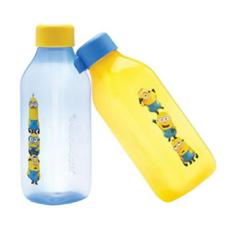Model Tupperware Minion Totem Square Bottle 2Pcs Terbaru