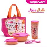 Spesifikasi Tupperware Miss Belle Lunch Box Set Yg Baik
