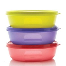 Tupperware Multi Modular Bowl 1 L Bekal Makan (3 Pcs)
