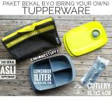 Review Tupperware Paket Bekal B Y O Bring Your Own Lunch Set Tupperware
