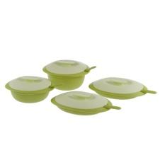 Tupperware Petite Blossom Set Collection - Hijau