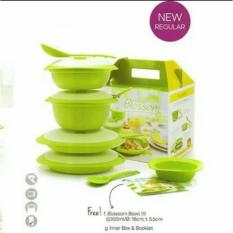Review Tupperware Petite Blossom Set Collection Wadah Saji Mangkuk Saji Tupperware Di Indonesia