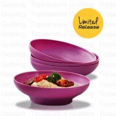 Tupperware Purple Daisy Bowl (4pcs) - Mangkuk Makan