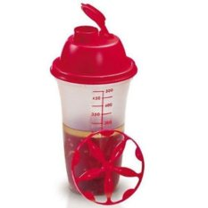 Jual Tupperware Quick Shake Merah Branded
