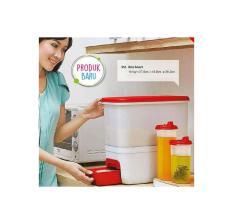 Tupperware Rice Smart Dispenser Tempat Beras Ukuran 10kg 10 kg
