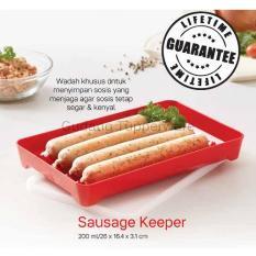 Tupperware Sausage Keeper - Wadah Untuk Menyimpan Sosis