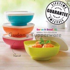 Tupperware Serve It Bowl Colorfull  4pcs