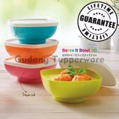 Jual Beli Tupperware Serve It Bowl Colorfull 4Pcs Baru Jawa Barat