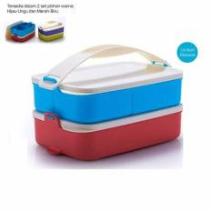 Jual Tupperware Small Click To Go Merah Biru Tupperware Murah