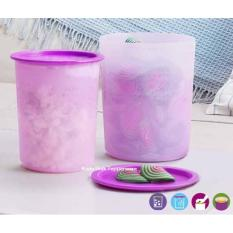 Review Tupperware Small Mosaic Canister 2Pc Indonesia