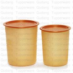 Small Mosaic Canister 2pcs - Gold Edition (Toples Kue)