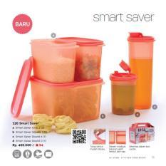Tupperware Smart Saver Promo Tempat Minyak dan Gula