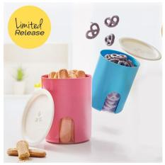 Spek Tupperware Snack Peek Canister 2Pcs Set Toples Cantik