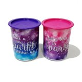 Harga Hemat Tupperware Sparkle Canister 2 Pcs
