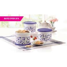 Tupperware Spring Garden Canister Set (3pcs)