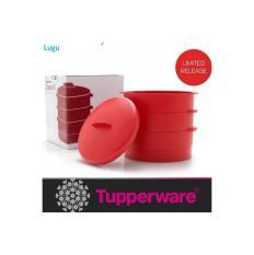 tupperware steam it alat pengukus untuk mengukus makanan 3 tingkat