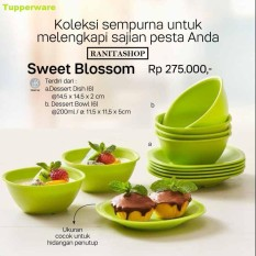 Tupperware Sweet Blossom - Dapat 1 set isi 12pcs