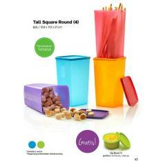 Tupperware Tall square (4) free bowl