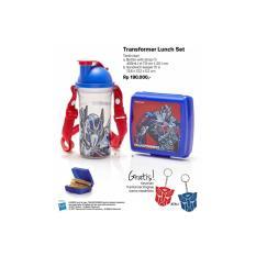 Tupperware Transformer Lunch Set (Tempat Makan dan Botol Minum Anak)