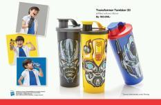 Tupperware Transformer tumbler (3 pcs)/gelas minum