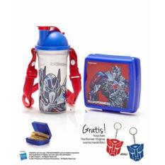 Jual Tupperware Transformer Lunch Set 2 Pcs Set Free Keychain Lengkap