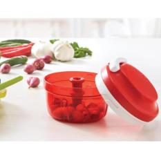 Tupperware Turbo Chopper  1pcs warna merah