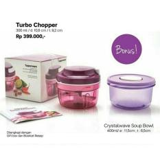 Tupperware Turbo Chopper Purple Free Crystalwave Soup Bowl - Raelyq