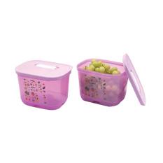 Tupperware Ventsmart 1.8L 2pcs- Wadah Sayur dan Buah