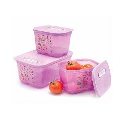 Tupperware Ventsmart Set Wadah Sayur dan Buah - Ungu