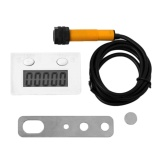 Diskon Ubest Digital Punch Electronic Counter Magnetic Inductive Proximity Switch Magnet White Intl Oem Di Tiongkok