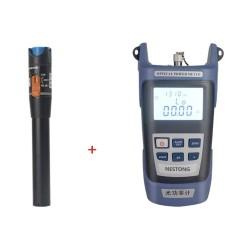 Diskon Besarubest Fiber Optical Power Meter 10 Km Visual Fault Locator Fiber Optic Test Pen Biru Hitam Intl