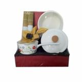 Jual Uchii Premium Parcel Kado Paket Panci Enamel Sauce Pan Set Hampers Gift Branded