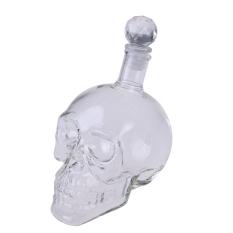 UJS Crystal Head Vodka Tengkorak Wajah Bone Botol Kaca Botol Kosong Bar 350 Ml
