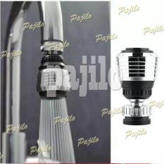 Ujung Keran Putar 360 Flexible Fleksibel Saringan Filter Wastafel Kran Air Cuci Piring
