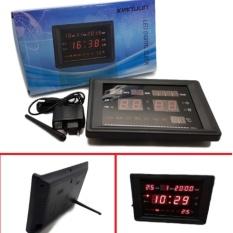 Jual Ukuran 23Cm X 15Cm Jam Dinding Meja Digital Electronic Led Digital Clock Tembok Gantung Diri Rumah Kantor Branded Murah
