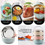 Iklan Ultimate Premium Rantang Susun 3 Tahan Panas Kotak Makan Bekal Stainless Steel Lunch Box Hl Rn 04 Full Colour