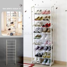 Toko Ultimate Rak Sepatu Sendal Susun 10 Shoes Rack Portable Shoe Rack Ts 05 Ultimate Indonesia