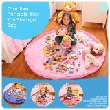 Harga Termurah Ultimate Tempat Penyimpanan Mainan Anak Serbaguna Kantong Alas Main Toys Storage Bag Organiser By 710 Km Pink