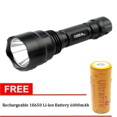 Toko Ultrafire C8 Senter Led Flashlight Waterproof Cree Q5 3800 Lumens Dekat Sini
