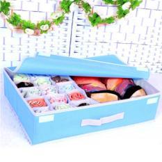 Beli Barang Underwear Clothing Organizer Storage Box Tempat Penyimpanan Pakaian Dalam Online
