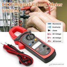 Review Uni T Ut 203 Digital Ac Volt Dc Klem Multimeter Amplifier Meter Penguji 400 Amp Frekuensi Bi152 Terbaru