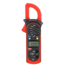 UNI-T UT202A Data Tahan 600A DC/AC Tegangan AC Current Resistance Digital Clamp Meter W/MAX & MIN Mode-Intl