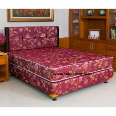 Harga Uniland Paradise Box Lavender 90X200 Kasur Tanpa Divan Sandaran Satu Set