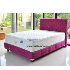 Uniland Platinum Double Pillowtop Violetta 200x200 Kasur Tanpa Divan/Sandaran